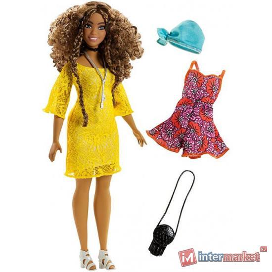 Кукла Barbie «Модница Glam Boho Doll» – Curvy