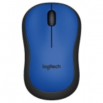 Мышь Logitech M220 SILENT Blue USB