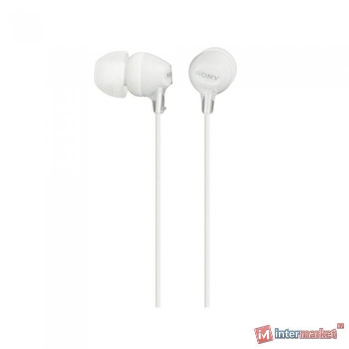 Наушники Sony MDR-EX15LP, White