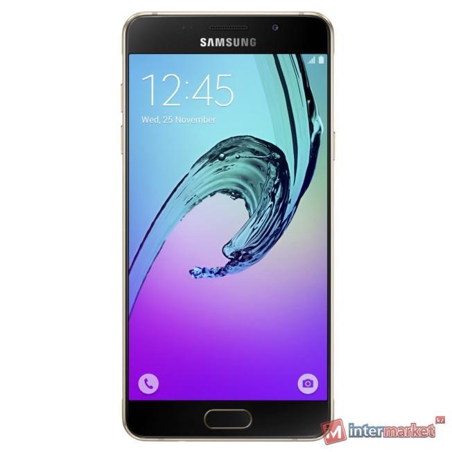 Смартфон Samsung Galaxy A5 (2016) SM-A510FZDDSKZ, Gold